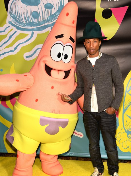 Pharrell and Spongebob