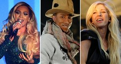 Beyonce, Pharrell and ellie