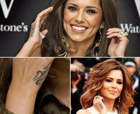 cheryl cole s tribal cheryl cole tattoos a