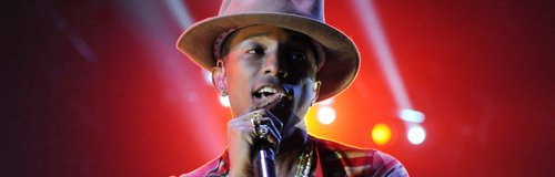 Pharrell Williams At The 2014 Coachella Music And