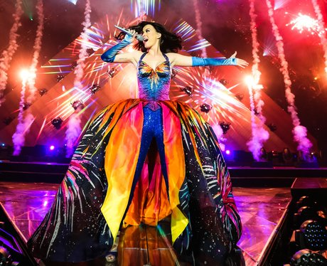 Katy Perry performs on Prismatic Tour 2014