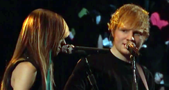 Ed Sheeran singing with Christina Grimmie on The Voice USA