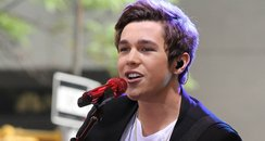 Austin Mahone Performs On NBC's 'Today' In New Yor