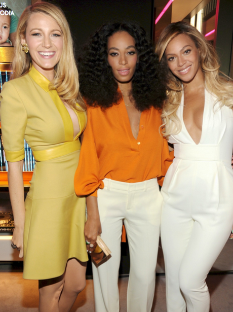 Beyonce Solange Blake Lively Chime for Change Anni