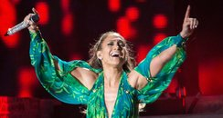 Jennifer Lopez Recreates Grammy Dress