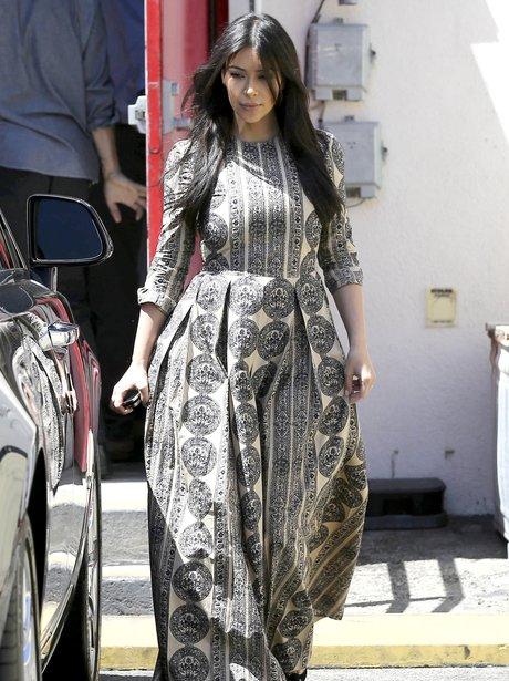 Kim Kardashian gown