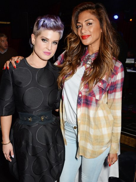 Kelly Osbourne and Nicole Scherzinger
