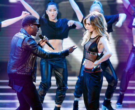 Tinie Tempah and Cheryl Cole Britains Got Talent 2