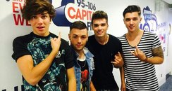 Union J In The Capital Office