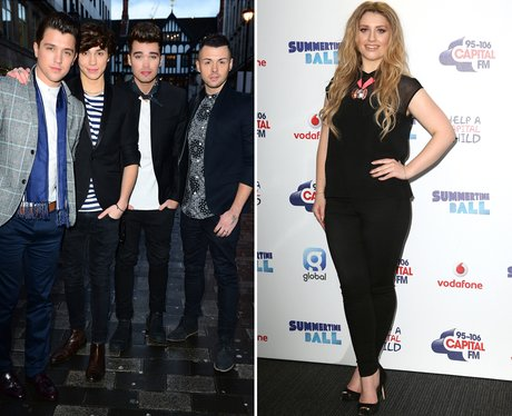 Ella Henderson and Union J Collaborate