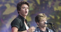The Vamps live in Hyde Park London