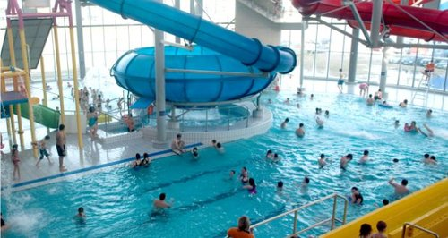 Win 500 with cardiff international pool splashzone - London swimming pools with slides ...