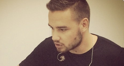 Liam Payne in the studio instagram