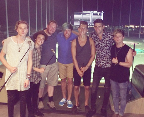 The Vamps Celebrate Brads Birthday