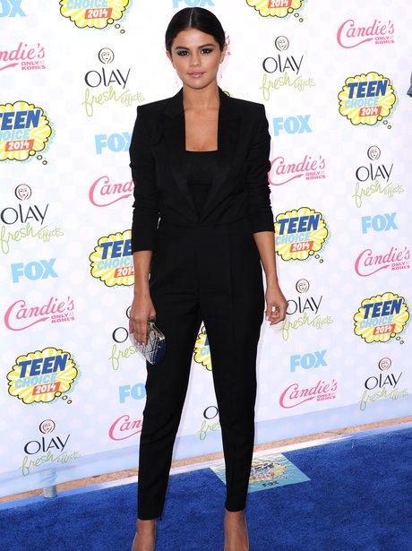 Selena Gomez at the Teen Choice Awards 2014