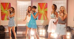 The Saturdays perform on This Morning