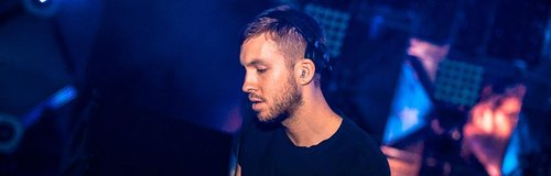 Calvin Harris DJing