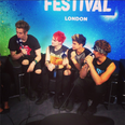 5SOS iTunes backstage