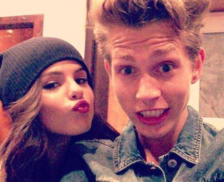 Selena Gomez With James The Vamps