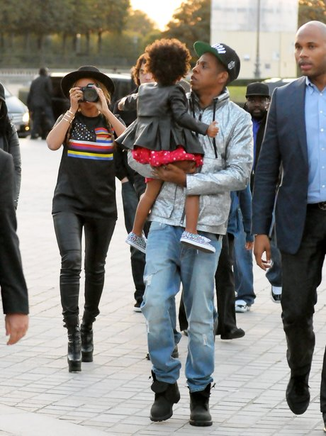 Beyonce, Jay Z and Blue Ivy