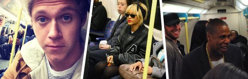 Celebrities on Tube Hero Wide