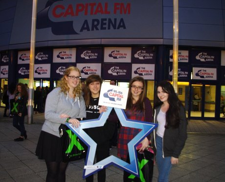 Ed Sheeran at Capital FM Arena 23rd Oct