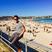 Image 9: Olly Murs on the beach in Australia
