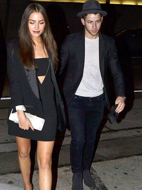 Nick Jonas and Girlfriend Olivia Culpo