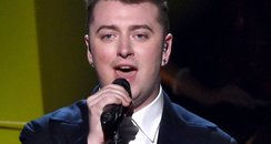Sam Smith on stage American Music Awards 2014
