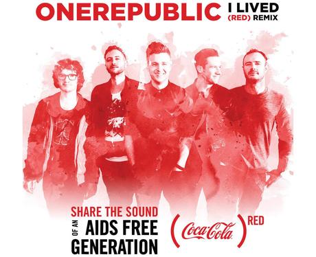 OneRepublic I Lived Cover With Border