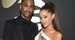 Big Sean and Ariana Grande Grammy Awards 2015