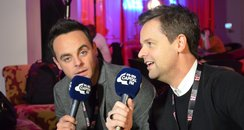 Ant And Dec Backstage BRIT Awards 2015
