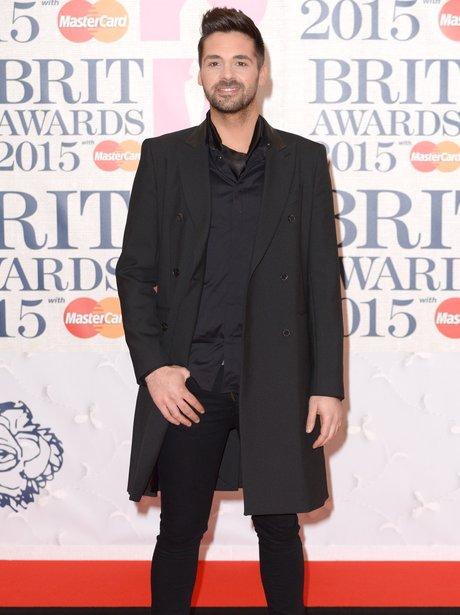 Ben Haenow BRIT Awards Red Carpet 2015