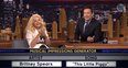 Christina Aguilera on Jimmy Fallon