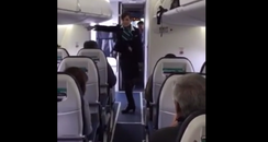 Flight Attendant 'Uptown Funk' Video