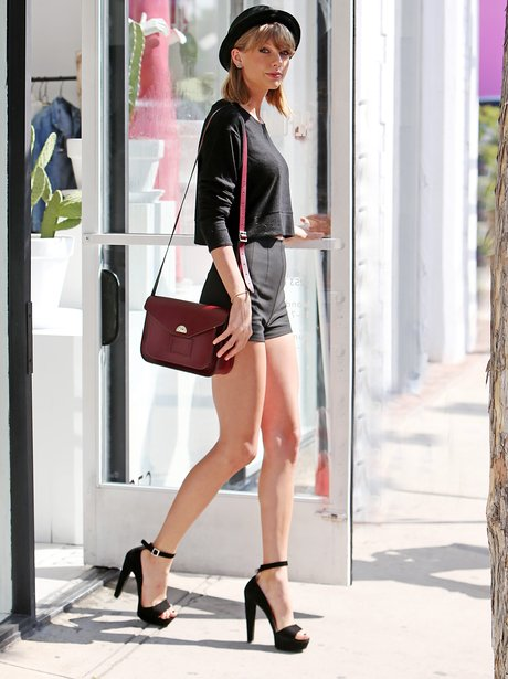 It's officially spring - Taylor Swift's got her multi-million-dollar legs out! -... - Capital
