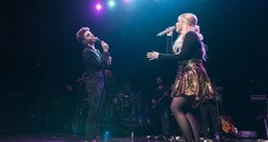 Nathan Sykes Performs With Meghan Trainor