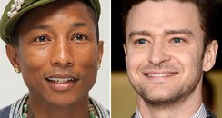 Pharrell and Justin Timberlake