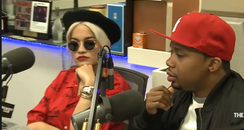 Rita Ora Charles Hamilton Breakfast Club Interview