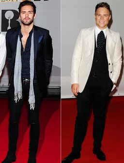 Fashion Face Off: Andy Brown V. Olly Murs