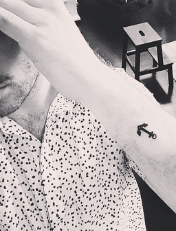 Sam Smith new tattoo