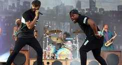 Rudimental at T in the Park 2015
