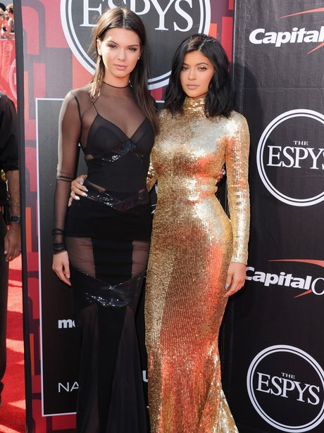 Kendall Jenner and Kylie Jenner ESPYS 2015
