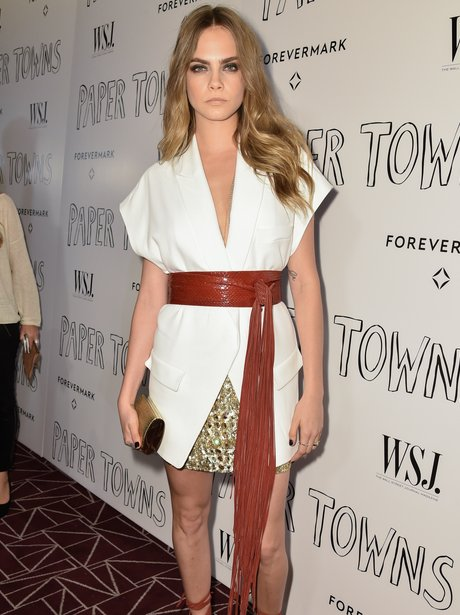 Cara Delevingne Paper Towns Screening