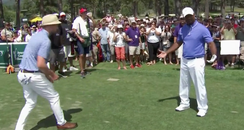 Justin Timberlake and Alfonso Ribeiro golf dance