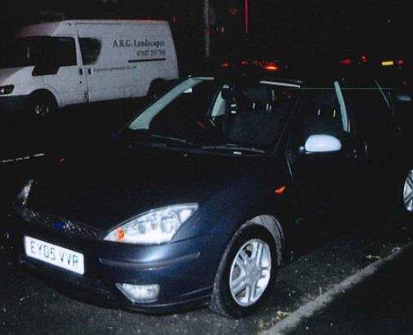 Alexander Pacteau's car