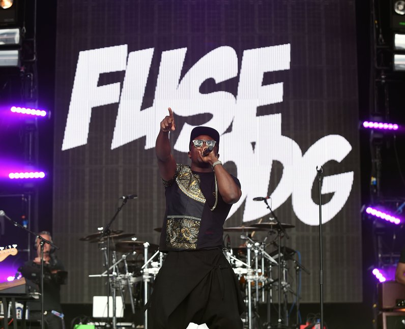 Fuse ODG live at Fusion Festival 2015