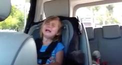 Girl crying over Adam Levine