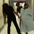 Pregnant Woman Does 'Whip / Nae Nae' Dance