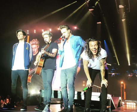One Direction 'On The Road Again' Tour